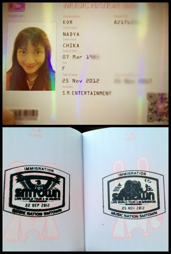 SMTown Passport