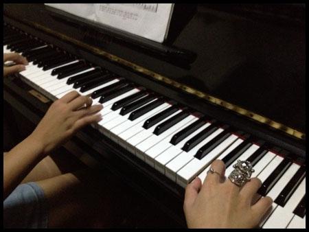 ngajar piano
