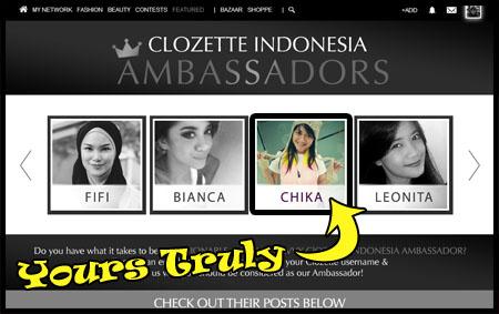 clozette ambassador