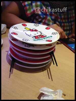 tumpukan piring