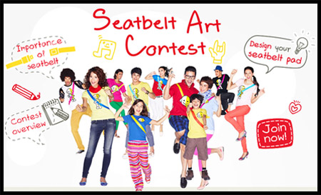 seatbelt contest