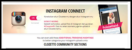 instagram connect
