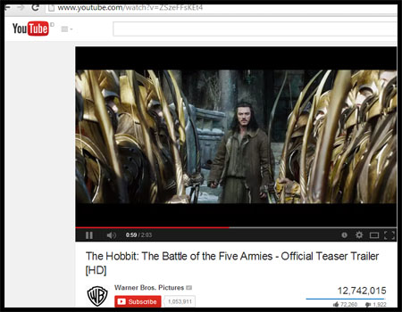 youtube hobbit