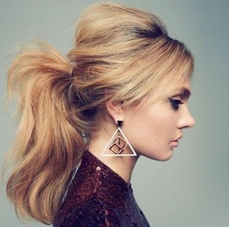 simple ponytail