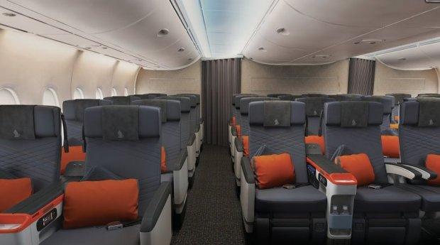 premium economy seats