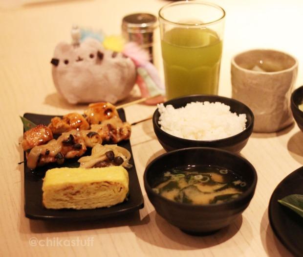 chicken leg miso, chicken breast teriyaki