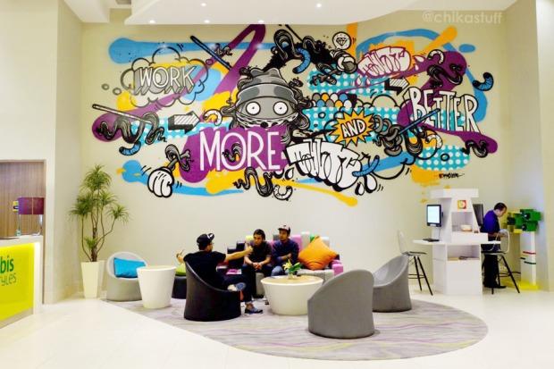 mural di lobby