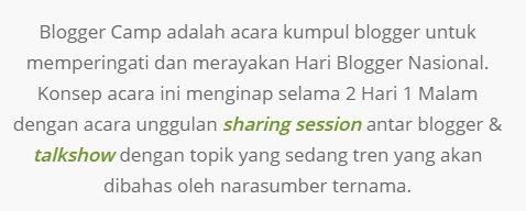 tujuan bloggercamp