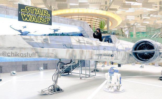foto di pesawat star wars