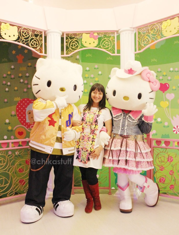 with dear daniel and hello kitty