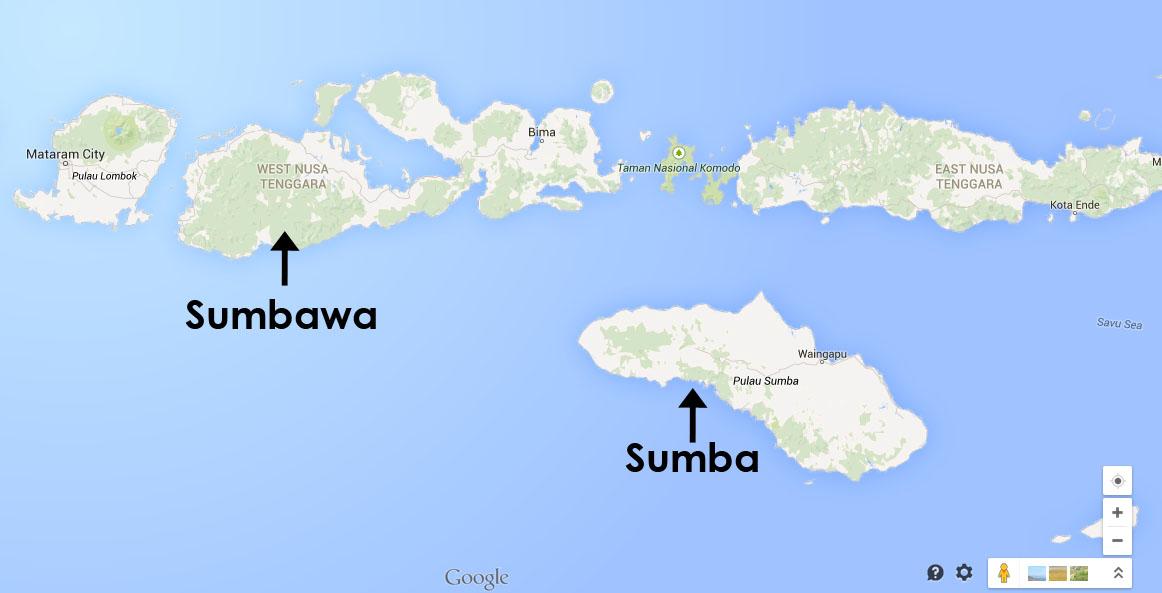 Sumbawa vs Sumba