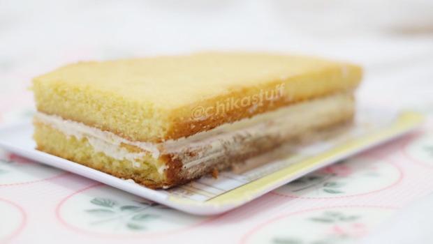 vanilla sponge cake gagal