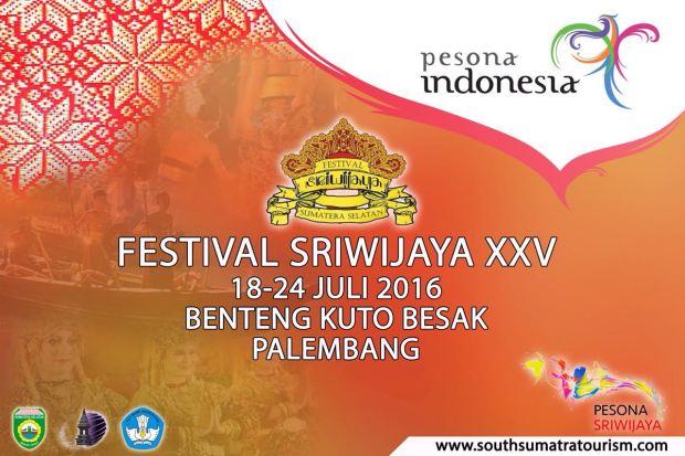 Festival Sriwijaya Poster