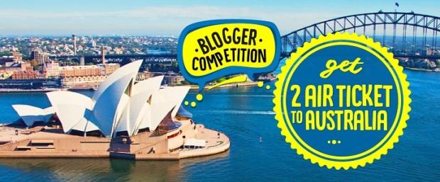 blogger-competition-australia